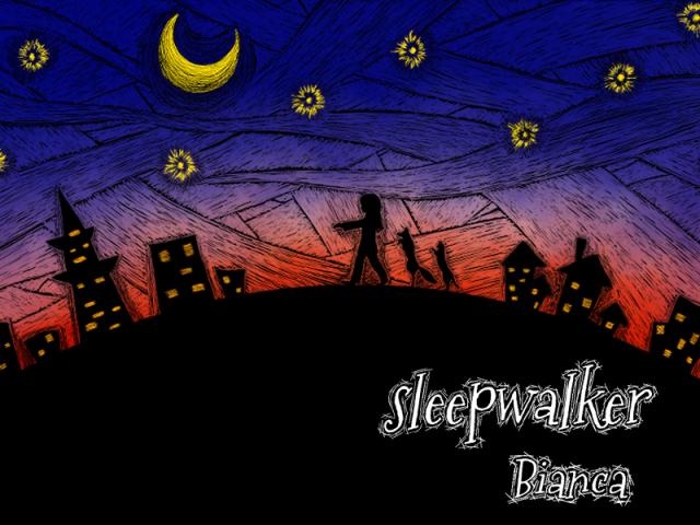 タイトル sleepwalker アーティスト名 Bianca 全3曲の完全オリジナル楽曲CD 全A面シングルCDが登場!!