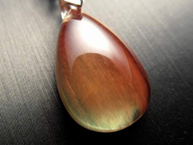 カラーチェンジ アンデシン ペンダントトップ 重さ約2.0g 超透明 「本当の自分」に近づく変化を促す石 極上アンデシン 中性長石 チベット産
