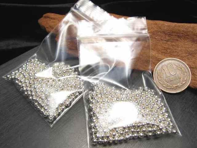 メタルパーツ 飾り玉 たっぷり30グラム 激安 シルバーカラー 外径約2.5mm-3mm 留め玉 丸金具 ピアスやエンドパーツ飾りに ハンドメイド 資材