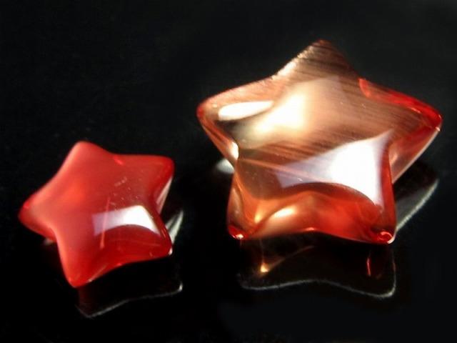 ミニサイズ!! アンデシン 星型 タンブル 0.5-0.6g前後 スター 超透明 極上アンデシン 中性長石 チベット産