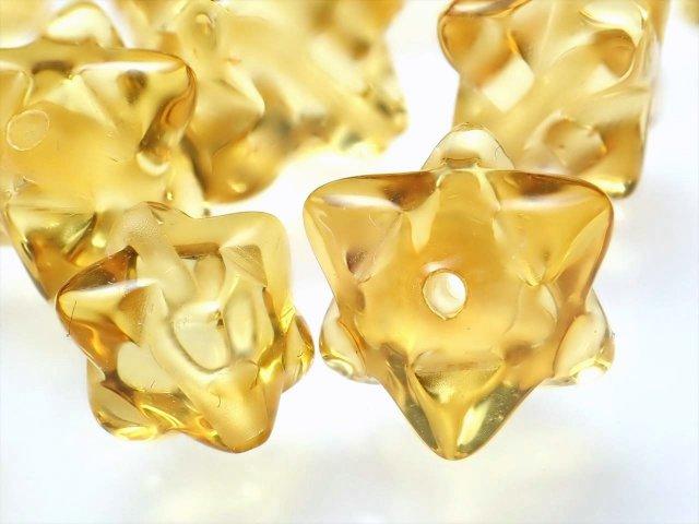 1珠売り 4A ハニーレモンアンバー マカバスタービーズ石 約7mm 極上透明 天然琥珀 バルト海産
