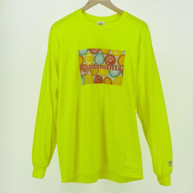 コンドーム柄ロングTシャツ