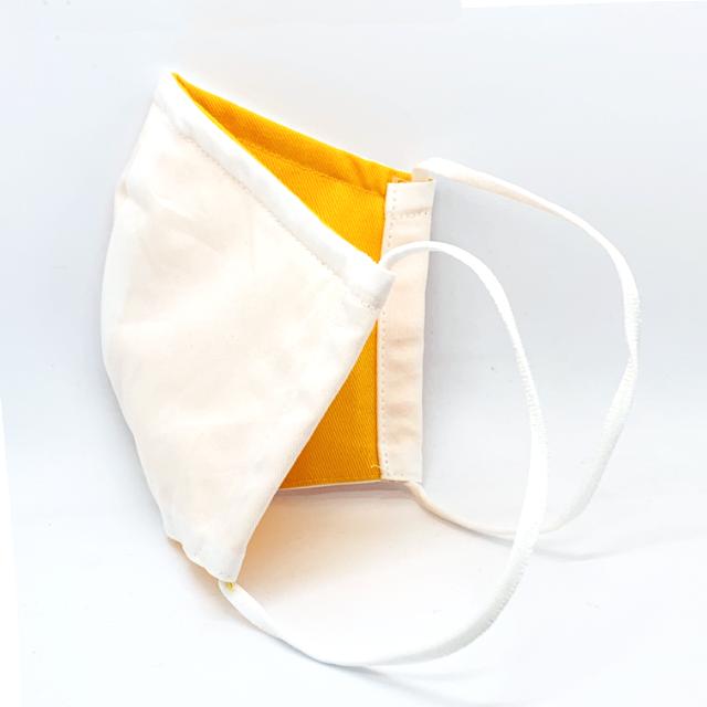 mask-white-orange