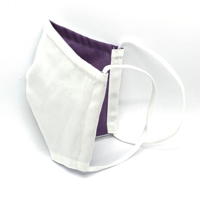 mask-white-purple
