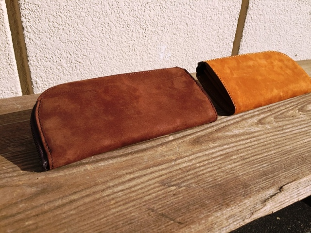 L型の長い財布(L zip long wallet)