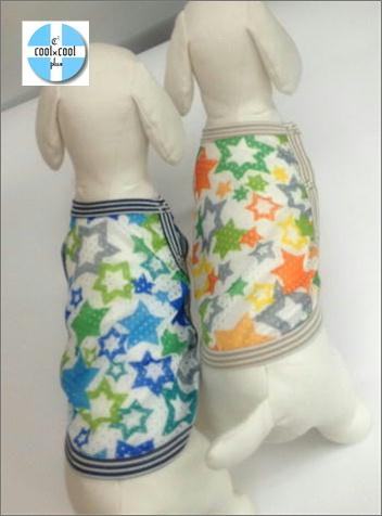 クークチュール クール×クールプラス スタータンク(サイド開きタイプ)(2色)10817[犬服]