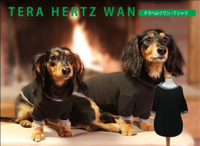 めちゃ売れ人気商品♪ ネコポス便OK。 テラヘルツワン・長袖Tシャツ(1色)50045[犬服][3SからSL]