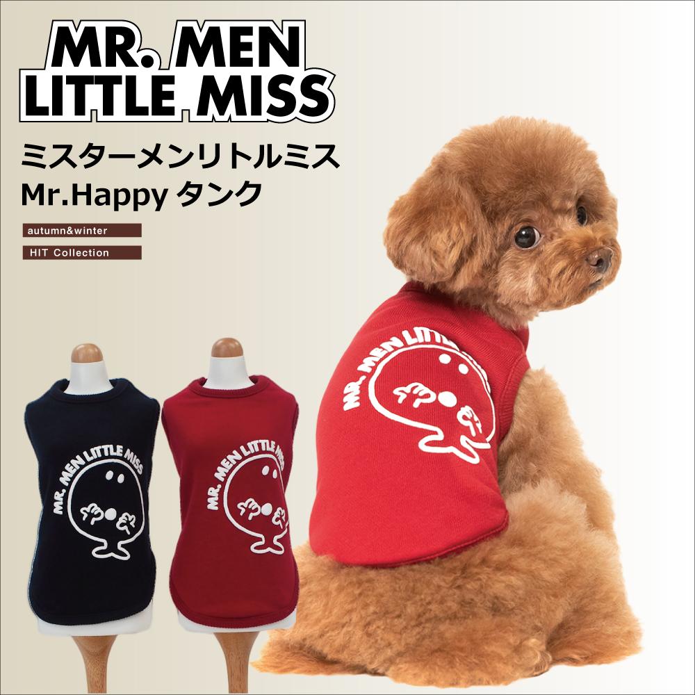シリーズ1番人気! .MR.MEN LITTLE MISSシリーズ 【Mr.Happyタンク】(2色)MR-07[犬服][SSから3L]