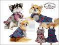 2019クークチュール秋冬新作 テラヘルツワン・サイド開きチェリーJスカート(2色)12275[犬服]
