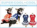 2020夏物新作スーパークール×クールティティワンピース(2色)12284[犬服]