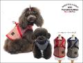 2019クークチュールテラヘルツワン・ツイードハーネス(2色)7197[犬服]