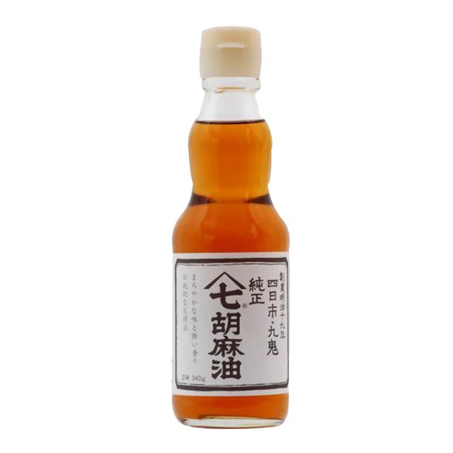 九鬼ヤマシチ純正胡麻油 340g