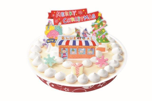2019ブルーシール クリスマスアイスケーキバニラ(送料込)