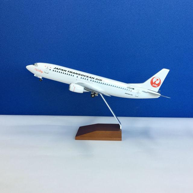 日本トランスオーシャン航空 ボーイング737-400(1/100)