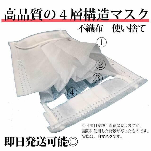 4層不織布マスク