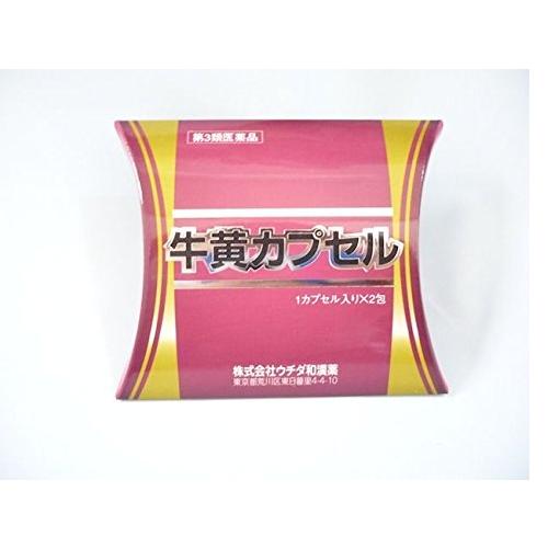 【第3類医薬品】牛黄カプセル 2カプセル