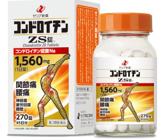 【第3類医薬品】コンドロイチンZS錠 108錠