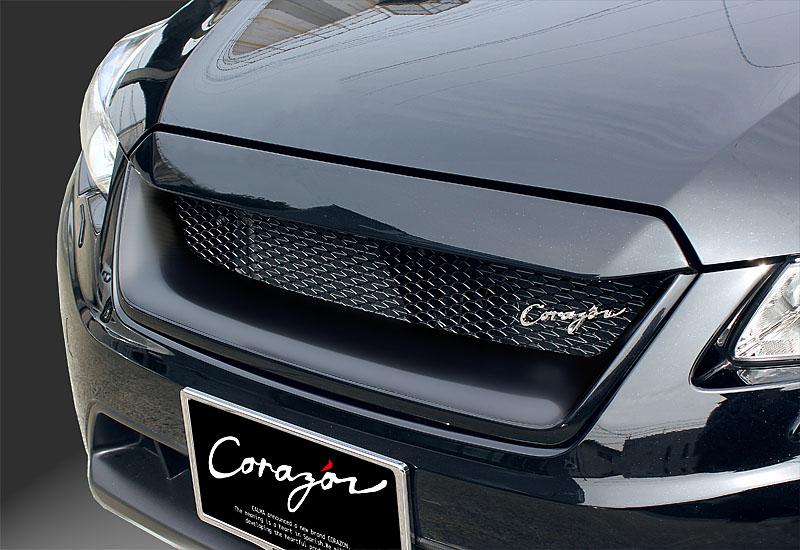 CORAZON フロントグリルタイプS (FRP)【未塗装】インプレッサ&XV GP/GJ(A型~) 専用