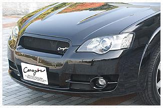アウトバック BP系(A〜C型) 3.0R、2.5i 専用 CORAZON フロントバンパー(グリル一体型)【未塗装】