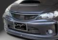 CORAZON フロントグリル(カーボン) ヘキサゴンネットバージョン【未塗装】インプレッサGR/GH/GE系 用