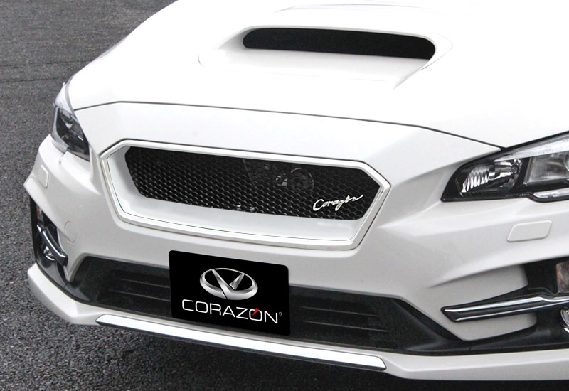 CORAZON フロントグリルタイプS(FRP)【色付き】レヴォーグSTI-SPORT VM4/VMG 専用