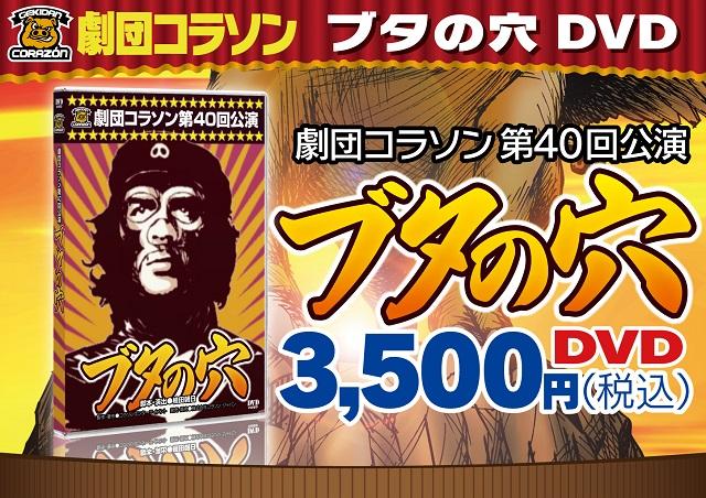 劇団コラソン第40回公演「ブタの穴」DVD