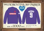 FlORENTINA No.9パーカー