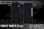 HOOLIGAN UNITED SWEAT PANTS