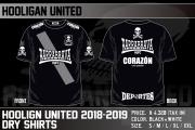 HOOLIGAN UNITED2018-2019ドライTシャツ