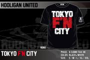 HOOLIGAN UNITED「TOKYO F'N CITY」Tシャツ