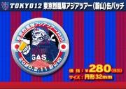 【メール便発送可】東京烈風隊アジアツアー(蔚山)缶バッチ