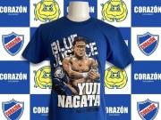 【永田裕志】BLUE JUSTICE53 Tシャツ