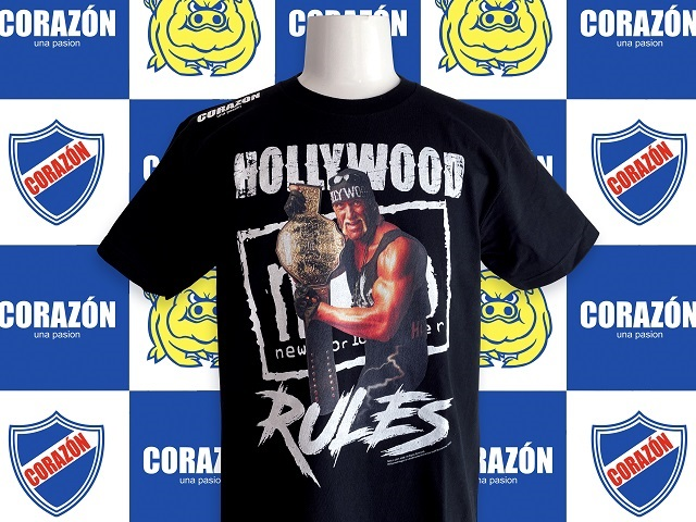 Hollywood Hulk Hogan×CORAZON Tシャツ