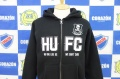 HOOLIGAN UNITED「HUFC ZIP」パーカー