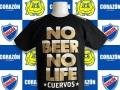 NO BEER NO LIFE Tシャツ