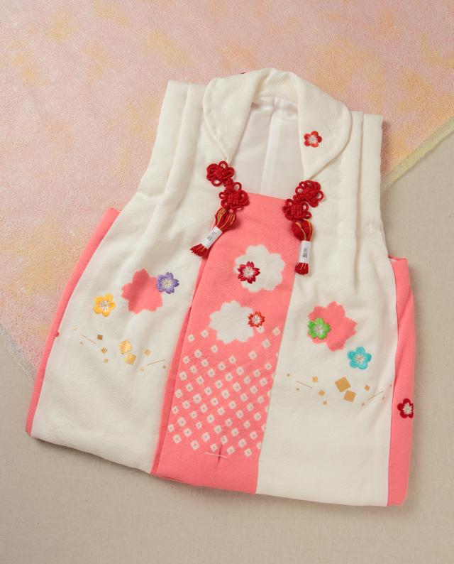 七五三 桜 花りん出し 被布