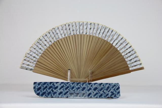 京絞り扇子