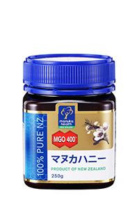 【美容と健康維持に】 マヌカハニー MGO400+ 250g