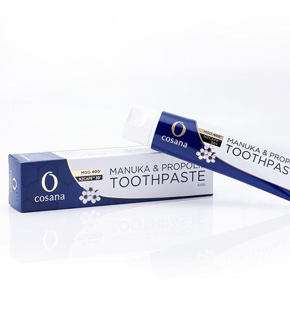 NZ産プロポリス入りマヌカハニーMGO400+ 歯みがき