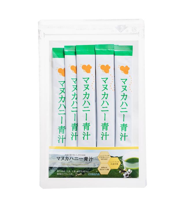 【ネコポス便】マヌカハニー青汁(7包入り)
