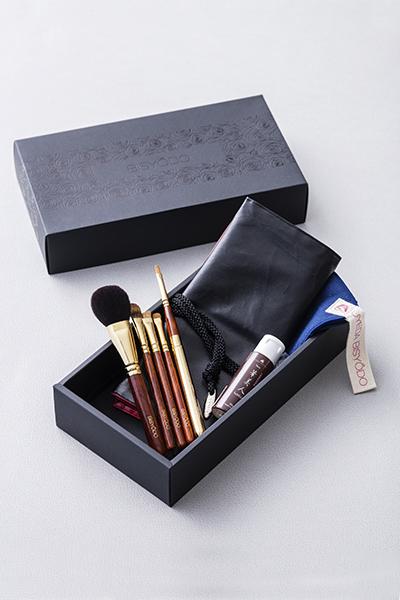 ウエダ美粧堂の化粧筆5本セット