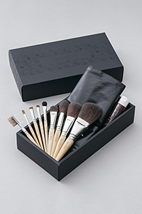 Cheriシリーズ化粧筆9本セット