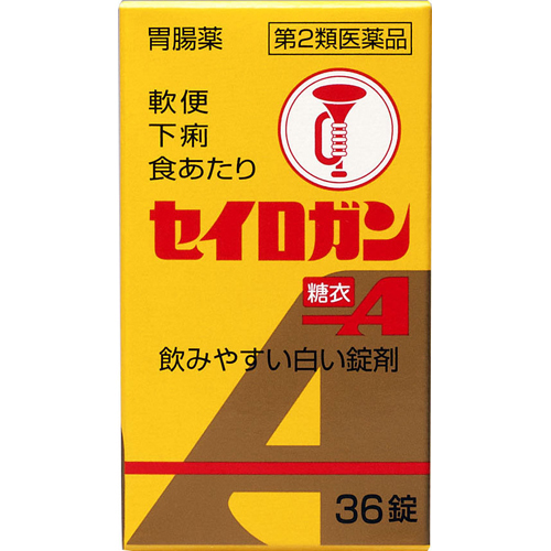 【第2類医薬品】大幸薬品セイロガン糖衣A36錠