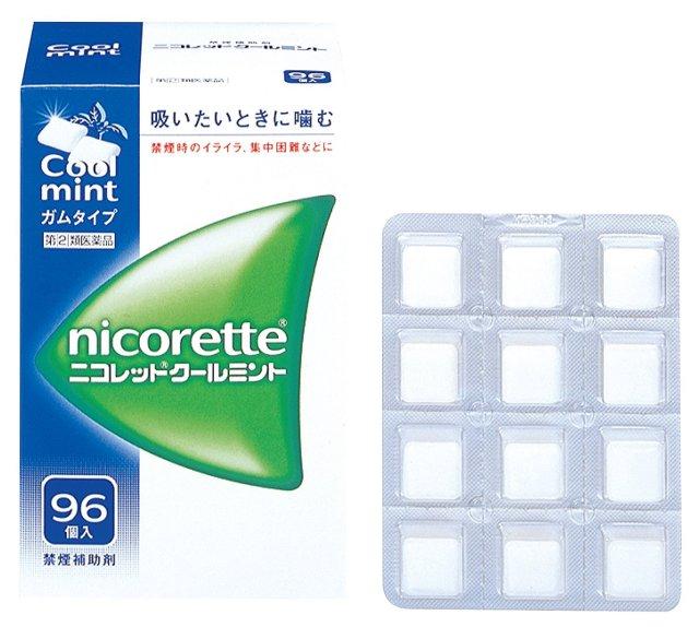 【指定第2類医薬品】武田薬品工業ニコレットクールミント96個