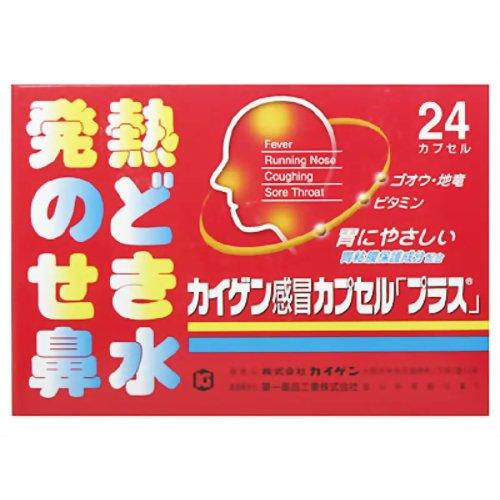 【第2類医薬品】カイゲンファーマカイゲン感冒カプセル「プラス」