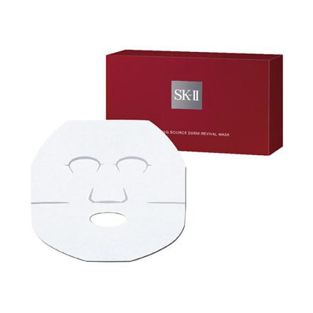 SK-IIホワイトソースダーム・リバイバルマスク