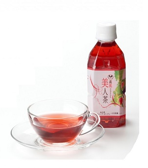 香寺ハーブガーデン 素肌美人茶(ボトルタイプ)350ml