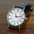 【グッドデザイン賞受賞!!究極のベーシックデザイン!】 「eki watch 30mm white dial」  design Takenobu Igarashi