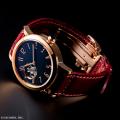 国産てんぷスケルトン機械式ムーブメント×木曽漆の匠 荻上 文峰氏の卓越した技が融合した 機械式腕時計 「SPQR  urushi-kiso 機械式 ピンクゴールドバージョン」 限定100本