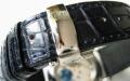 【あらゆる高級腕時計との相性も抜群!!4mm厚の素晴らしいクオリティー感と耐久性で納得の品質!】オイルマット仕上 最高級クロコダイルベルト(18mm 20mm幅)SSミラー仕上バックル